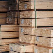 Planed softwood products